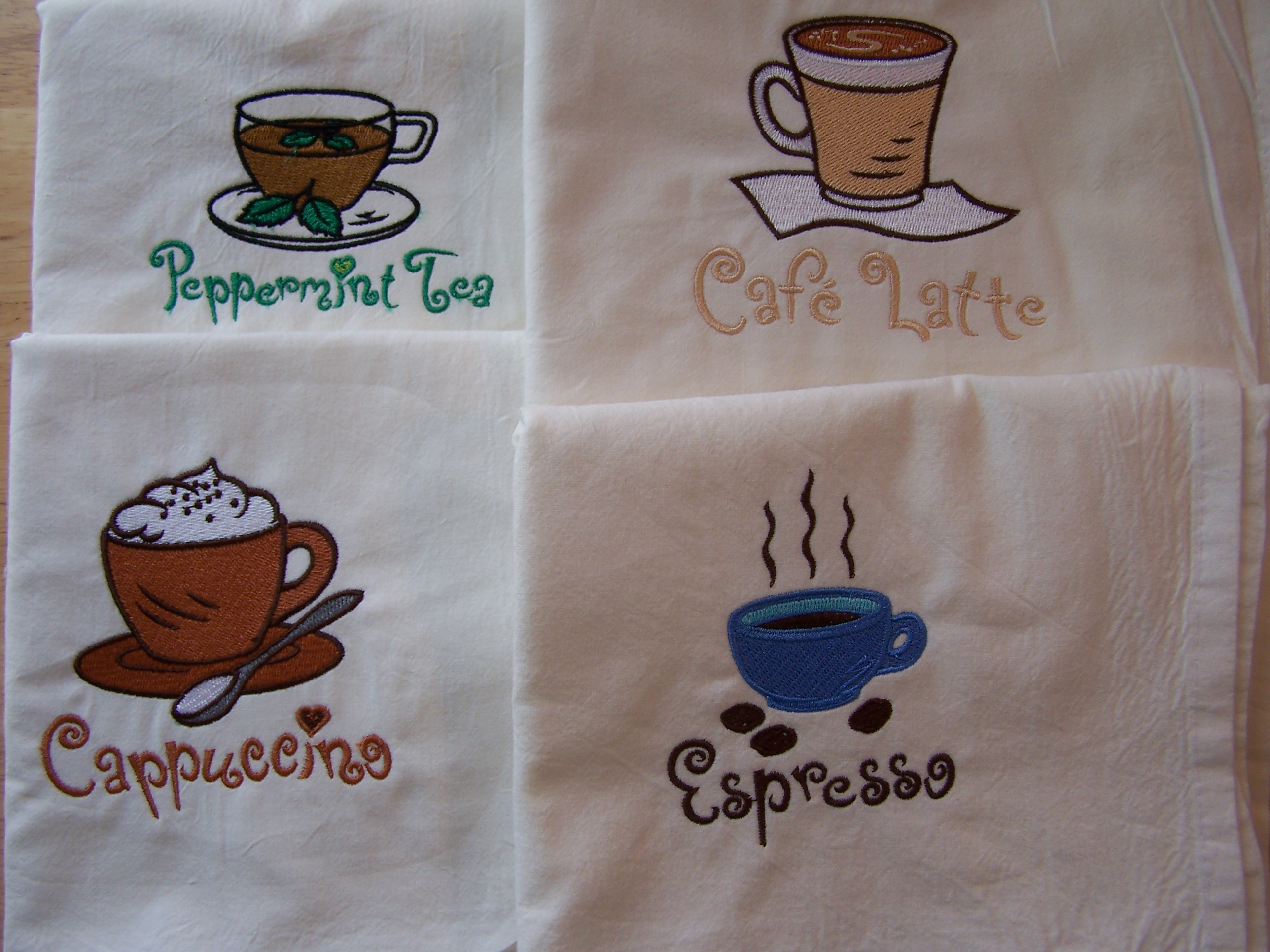Floursack Towels - Coffee Themed
